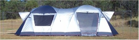 Sportiva Odyssey 8S Double Geodesic Dome Tent 40.100.0195 $799.95 & Ranger Camping Online - Australiau0027s Family Camping Equipment ...